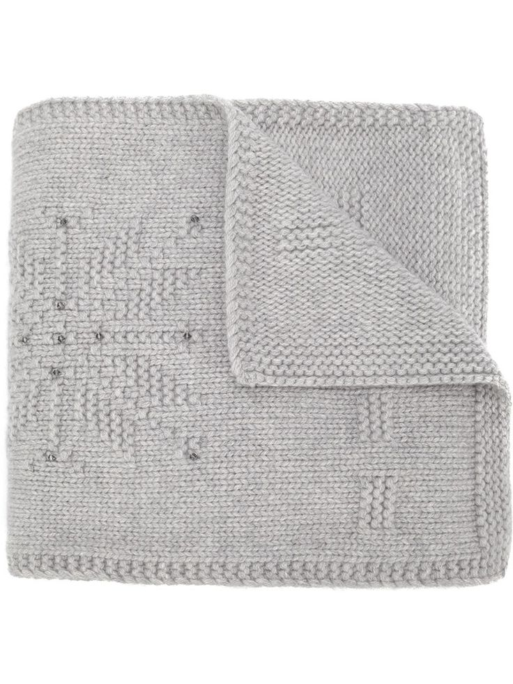 Loro Piana шарф с элементом снежинки