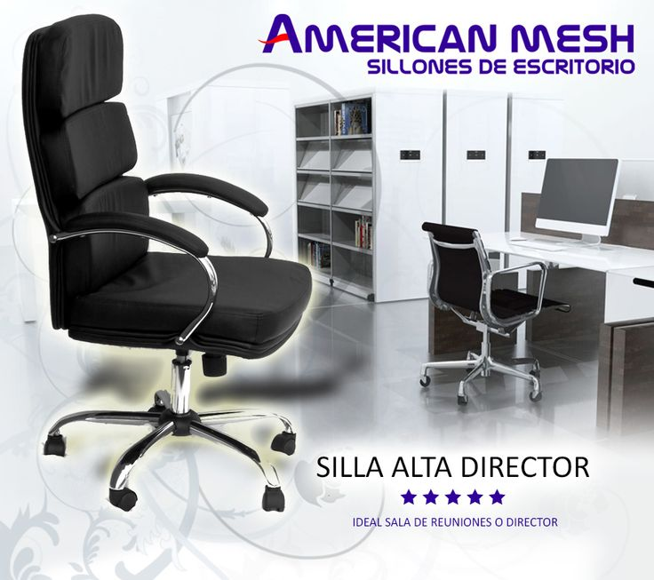 la silla o silln que buscas para jerarquizar tu oficina o escritorio