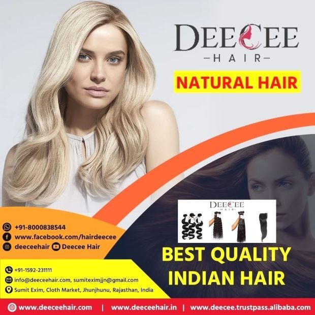 Natural Hair Best Quality Indian Hair Natural Hair Best