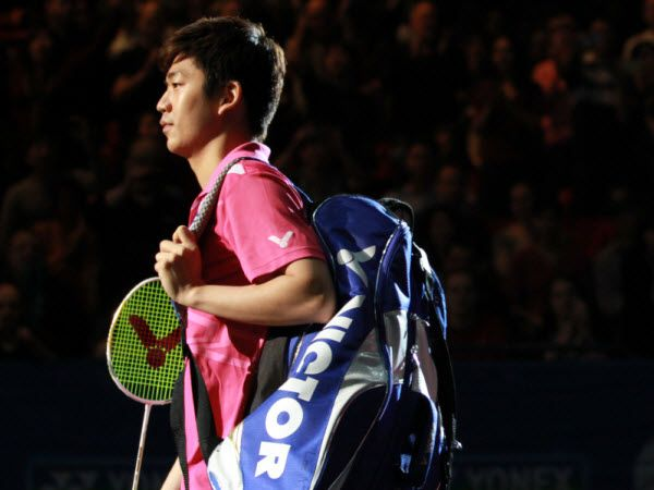 Favorite badminton player - Lee Yong Dae