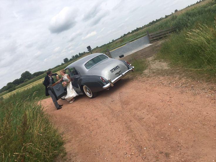 Fotoreportage met #trouwauto #rollsroyce | Limousine huren Friesland