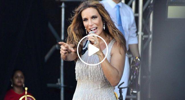 Ivete Sangalo Tem Crise De Ciúmes Do Marido Durante Concerto