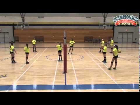 Improve the Passing of Middle School Volleyball Players! - Volleyball 2015 #13 - YouTube