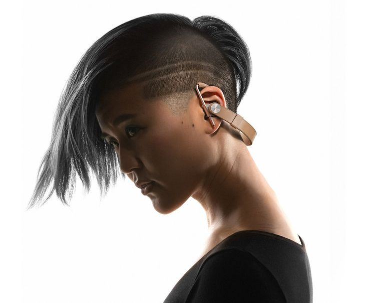 Leather and Metal Together With the New Normal Wireless Headphones