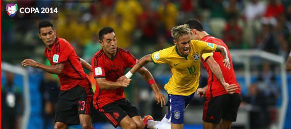 Califica a los jugadores del México vs Brasil