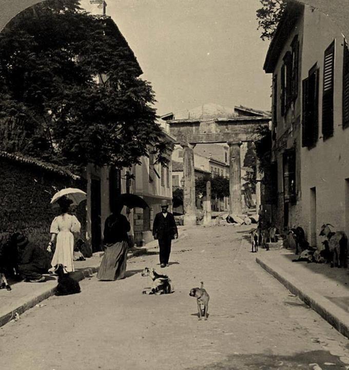 1908 - Plaka Athens