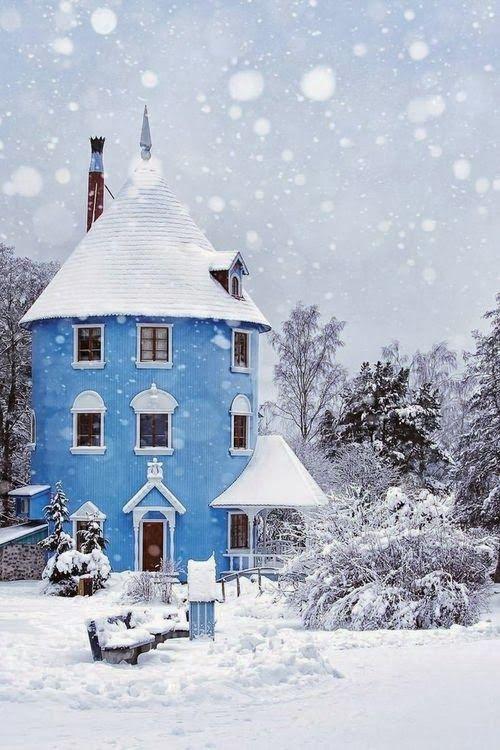 "Moomin House, #Naantali #Finland  ................. #GlobeTripper® | https://www.globe-tripper.com | ""Home-made Hospitality"" | http://globe-tripper.tumblr.com"