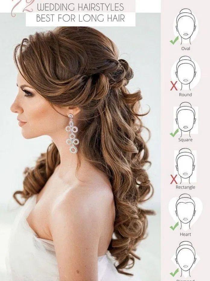 166+ best wedding hairstyles for long hair 3 ~ my.easy-cookings.me