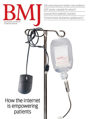 BMJ how internet is empowering patients.