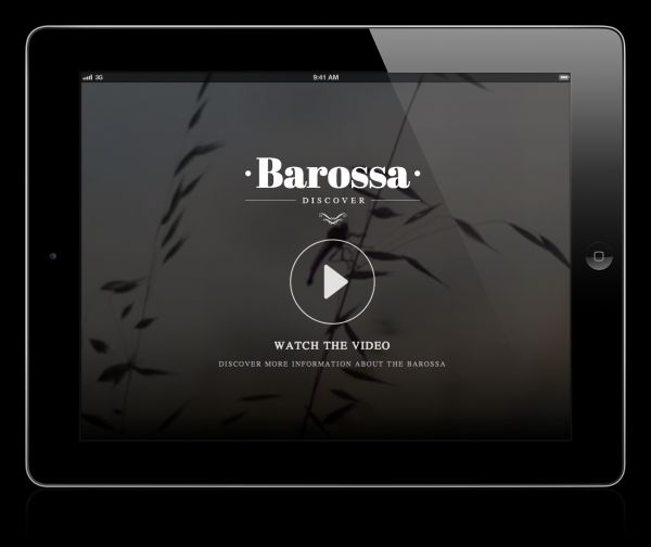 Barossa Be Consumed Interactive Video - Mobile Awards