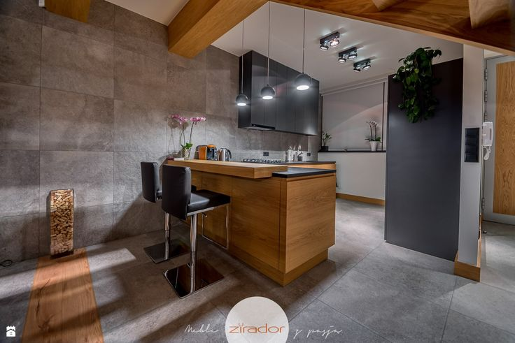 Wystrój wnętrz - Kuchnia ze strefą gotowania - pomysły na aranżacje. Projekty, które stanowią prawdziwe inspiracje dla każdego, dla kogo liczy się dobry design, oryginalny styl i nieprzeciętne rozwiązania w nowoczesnym projektowaniu i dekorowaniu wnętrz. Obejrzyj zdjęcia!