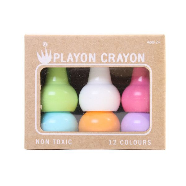 The perfect first crayon for your child! Material : Wax – Certified NON TOXIC by the Art & Creative Materials Institute, USA  Recommended for children 2 years+  Size : Individual 3.3cm (W) x 5.5 cm (H) BOX (12colours) 10.5 cm (W) x 5.5cm...