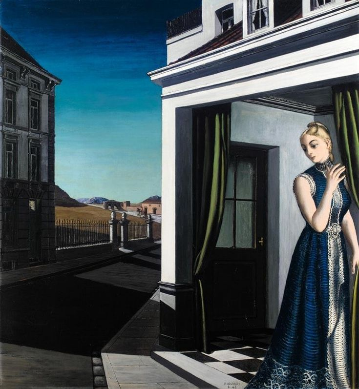 Paul Delvaux - L'Attente