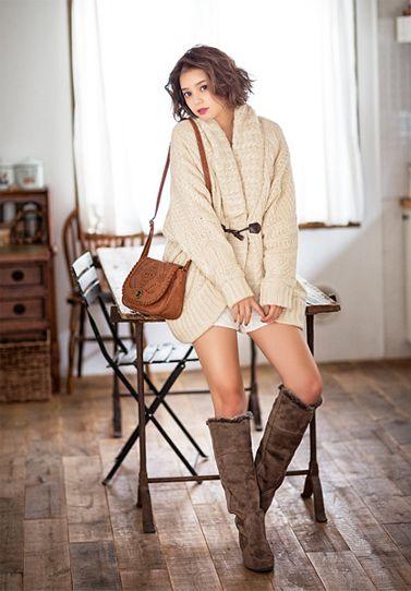 Model / Cecil Kishimoto. Cute fashion by Image.