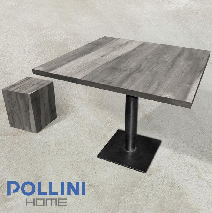 Elegant #ceramic #table with #stool  Elegante #tavolo con #sgabello in #ceramica