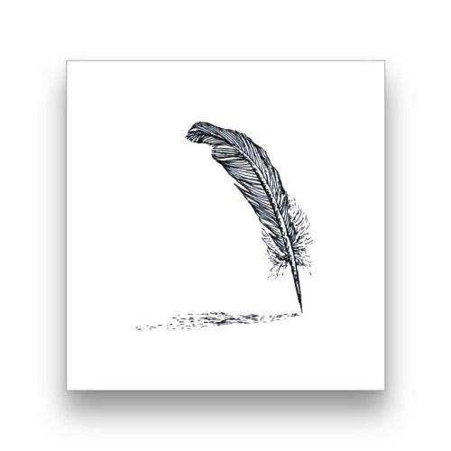 """Quill""- now available on my Society6 shop 😊🎨 @society6 (at Cambridge Town, Waikato)"
