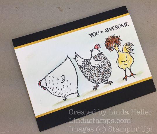 Crazy Hair Chicken…. |