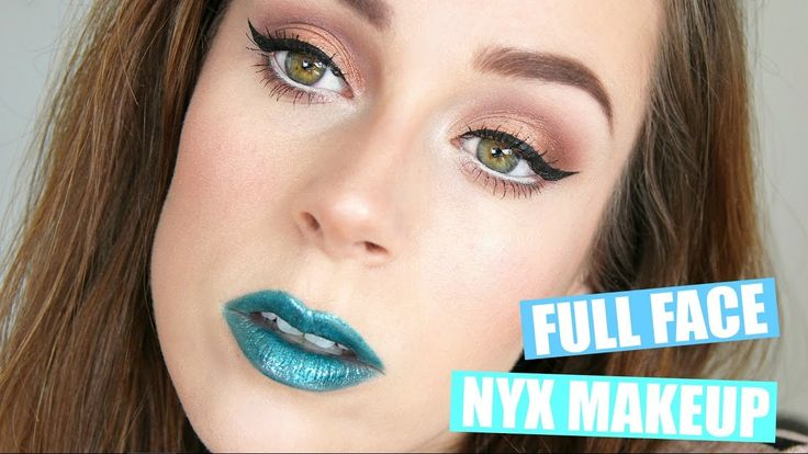 Full Face Of NYX Makeup || Groene lippen?!