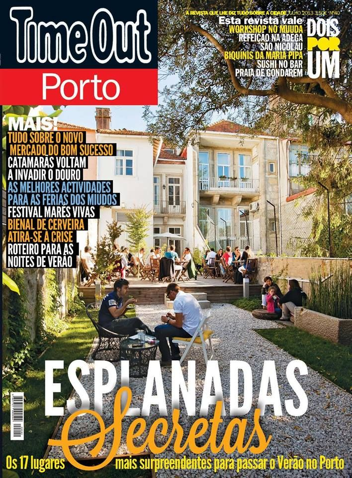 Feature in Time Out Porto, Portugal