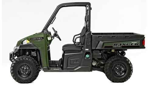 New 2016 Polaris Ranger Diesel Hst ATVs For Sale in Alabama. 2016 Polaris Ranger Diesel Hst, Extended length rear dump box with 1,250 lbs. capacity. Treadle pedal to travel FWD and REV without shifting gears. Extended length rear dump box with 1,250 lbs. capacity. Like nothing else in its category, RANGER HST allows for forward or reverse travel with a single pedal, without ever shifting gears or taking your hands off the wheel. Tackle the toughest jobs in less time and lower fatigue. True…