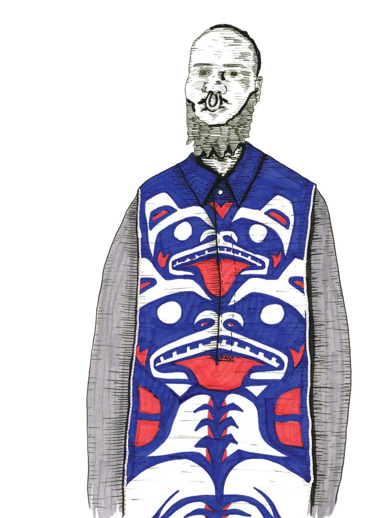 2015 Westminster Fashion illustration – Dan McKinley