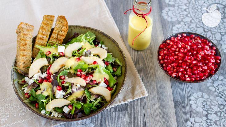 Insalata di pere e feta greca #salad