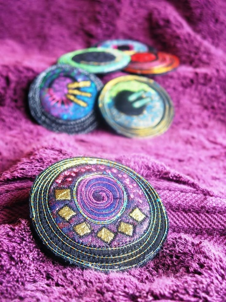 brooches by Angie Hughes