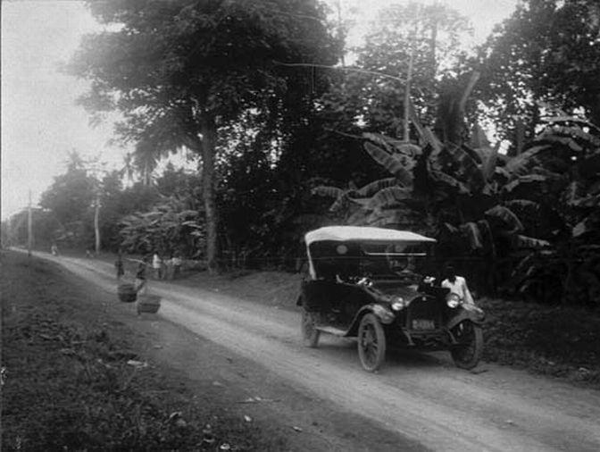 Jalan Ke Tangerang Tahun 1920-1922