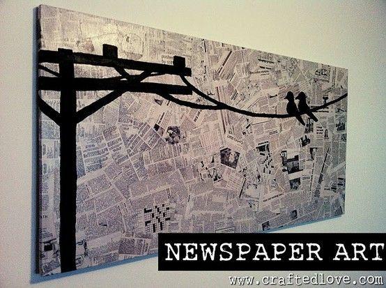 Textura de fundo: colagem de jornais.   Background texture made of newspaper collage.