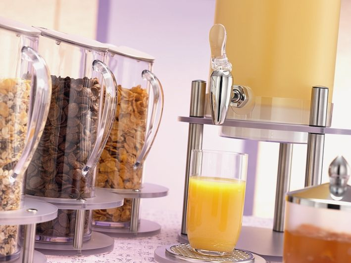 chilled fresh juice dispensers presentation