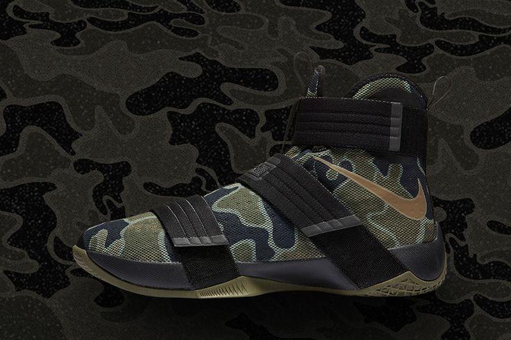 "Nike Zoom Lebron Soldier 10 ""Camo"""