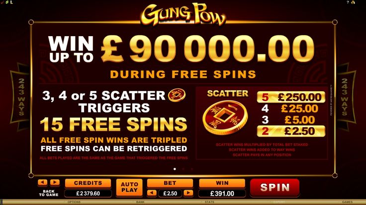 Gung Pow online slot is available for play - http://www.royalvegascasino.com/casino-games/slots/video-slots/