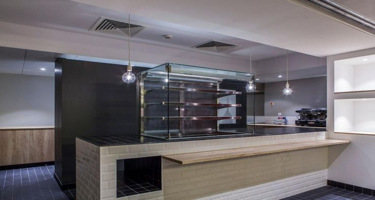 Kitchen into the University of London in Paris, France