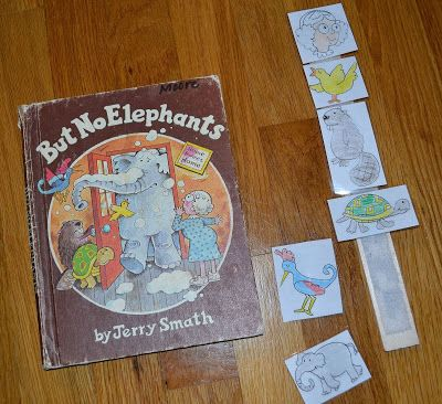 Ee elephant day was a no-brainer for me book wise. I love But No Elephants  by Jerry Smath. This was such a fun book to work with becaus...