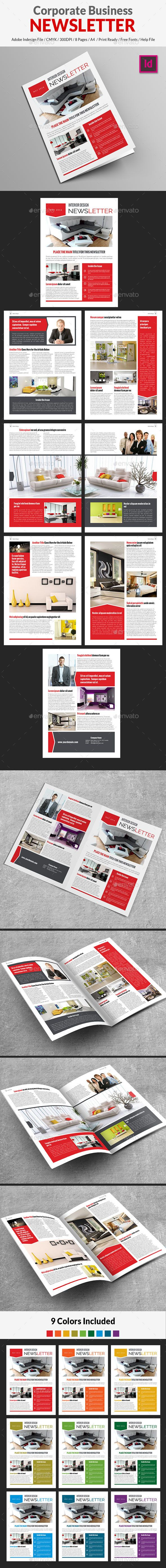 Corporate Business Newsletter - Newsletters Print Templates Download here : https://graphicriver.net/item/corporate-business-newsletter/16208905?s_rank=96&ref=Al-fatih