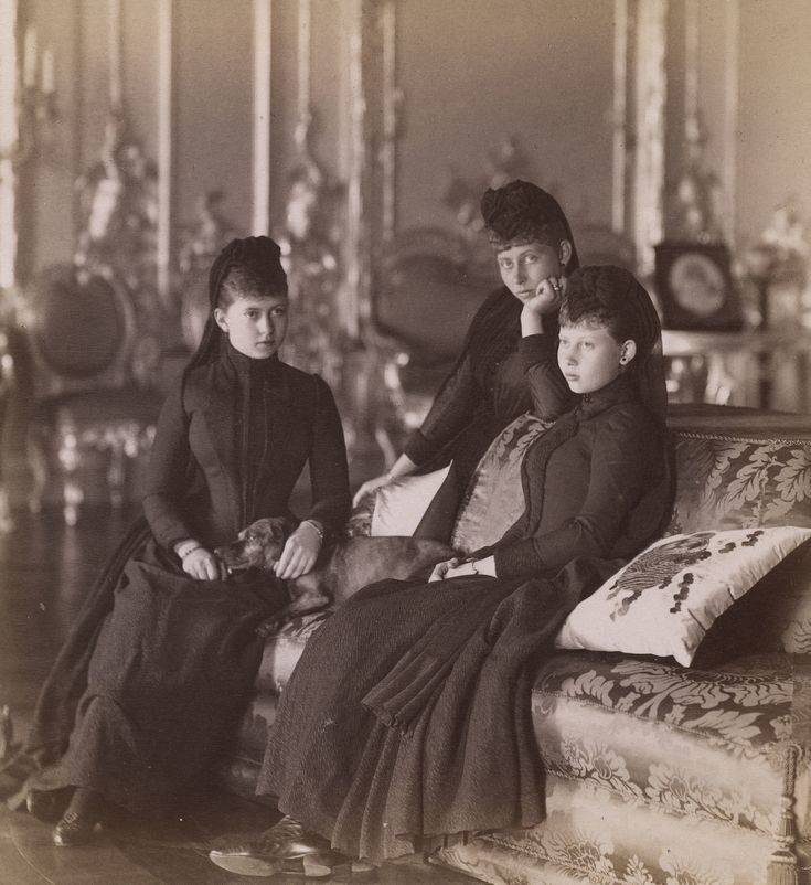 The Princesses Sophie, Victoria, and Margaret of Prussia, 1888