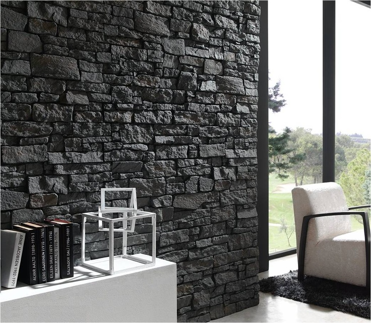 Las 25 mejores ideas sobre revestimiento simil piedra en - Revestimiento de pared ...