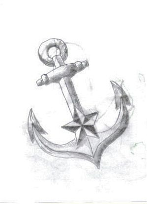 Anchor tattoo sketch by *JonnyANDfrankie on deviantART
