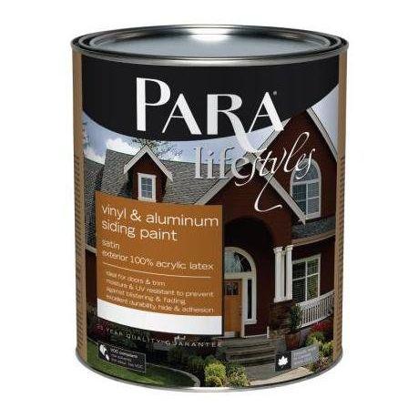 Para Lifestyles Vinyl Amp Aluminum Siding Exterior Paint