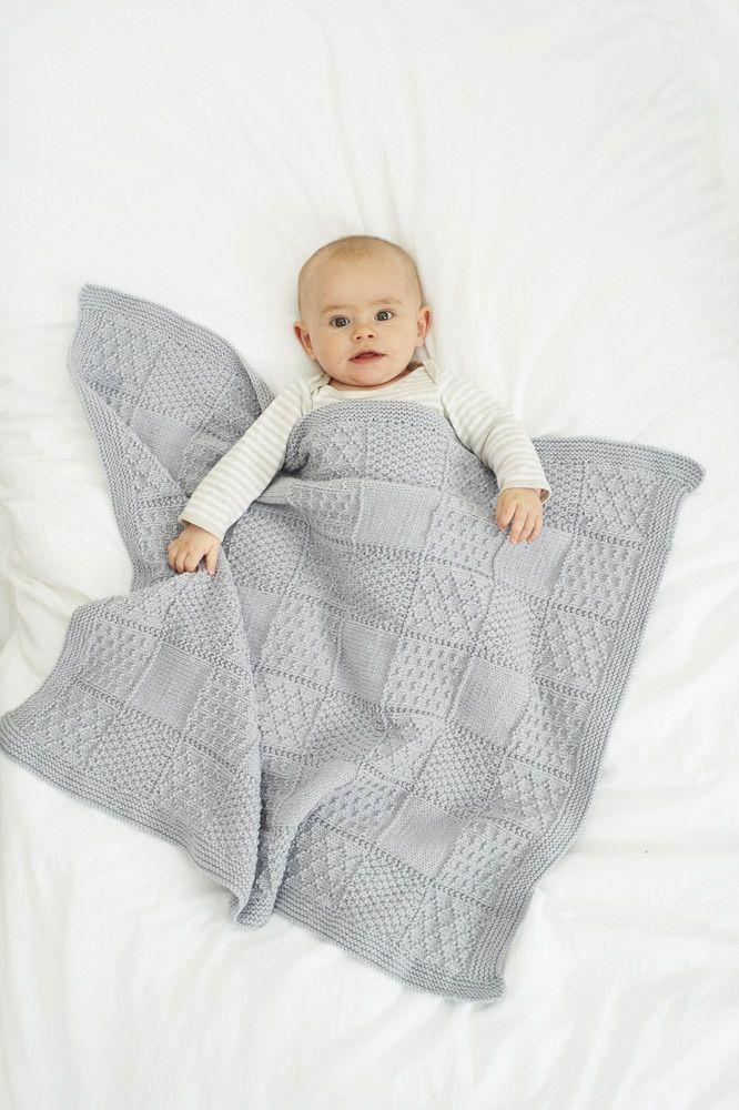 Blankets In Stylecraft Lullaby DK - 8913