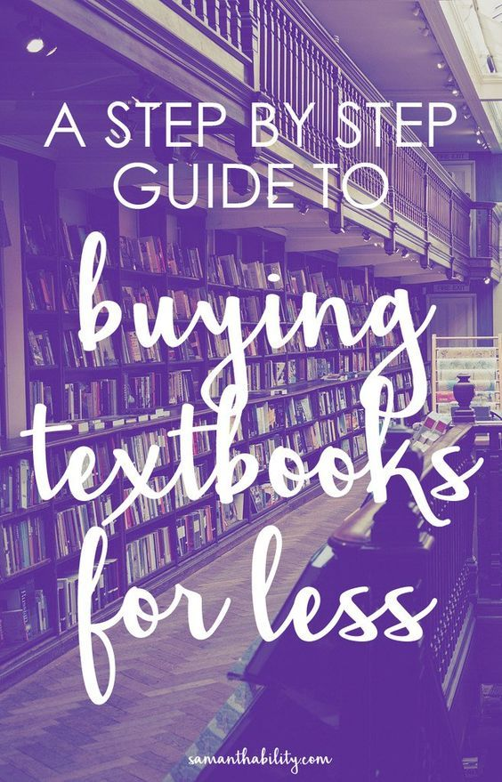 A step by step guide to saving money buying and selling textbooks! Buy discounted textbooks with these tips and earn your money back selling your textbooks at the end of the college semester!