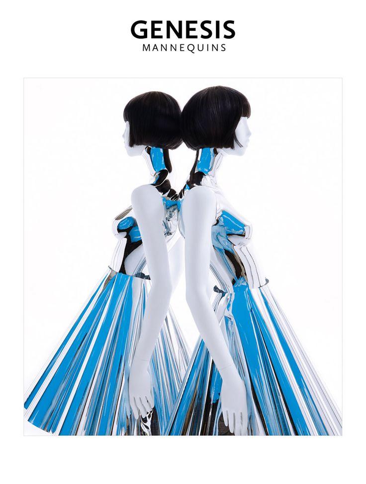 Eva Collection in VSMD June 2015   #mannequins  #vm #visualmerchandizing #visualmerchandising