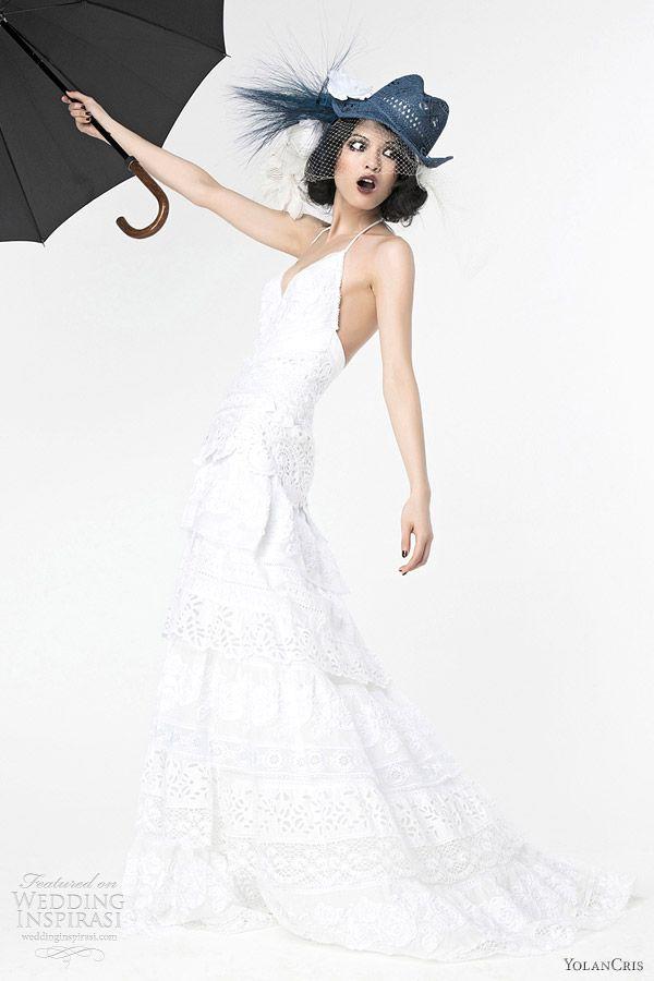91 best Yolan Cris images on Pinterest | Wedding frocks, Homecoming ...
