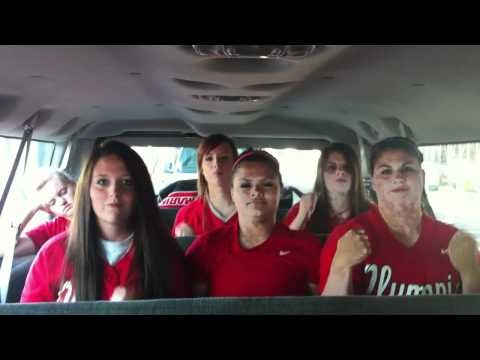 """Olympic College Softball """"Call Me Maybe"""" Remix...too funny! They tell Harvard Baseball to call them"""