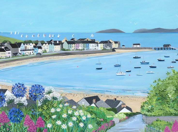 Janet Bell Gallery is the award winning gallery owned by Anglesey artist Janet Bell in the charming town of Beaumaris. The gallery exclusively sells Janet's ori
