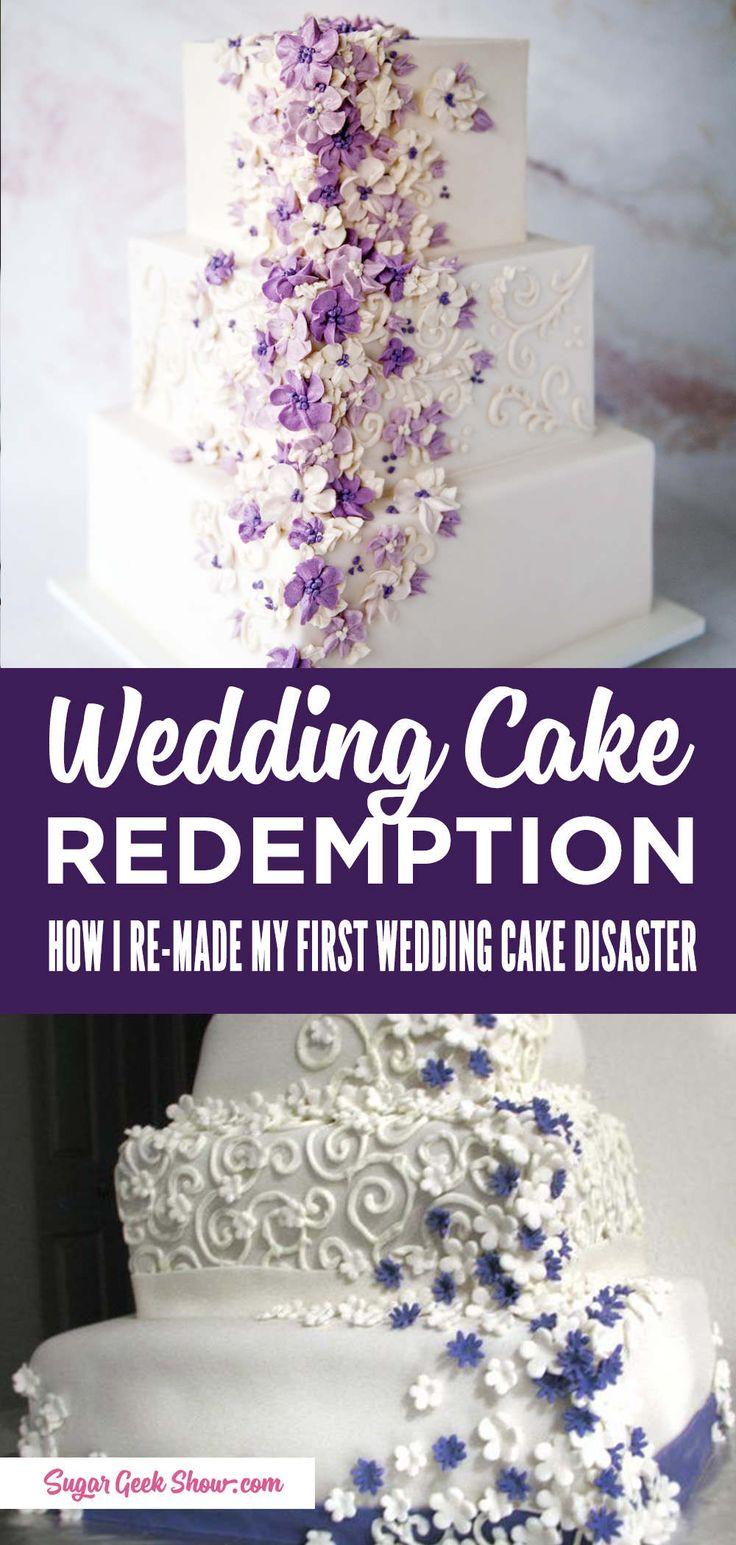 Wie ich meine größte Hochzeitstorte-Katastrophe wieder herstellte   – cakes, baking