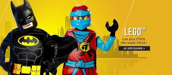 #AW @DeguiseToi  [ #LEGO ] Un #déguisement Lego et vous serez les plus cool des #SuperHéros ! #Ninjago #Batman  http://tidd.ly/84078c7b
