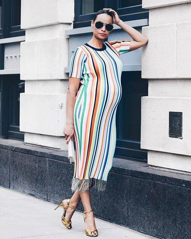 62e9a6d41d0 These Are the Summer Maternity Outfits to Try Right Now