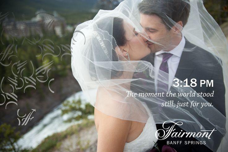Plan the perfect destination wedding - Banff National Park, Canada. Fairmont Banff Springs - Hotel Castle Wedding. www.fairmont.com/banffsprings