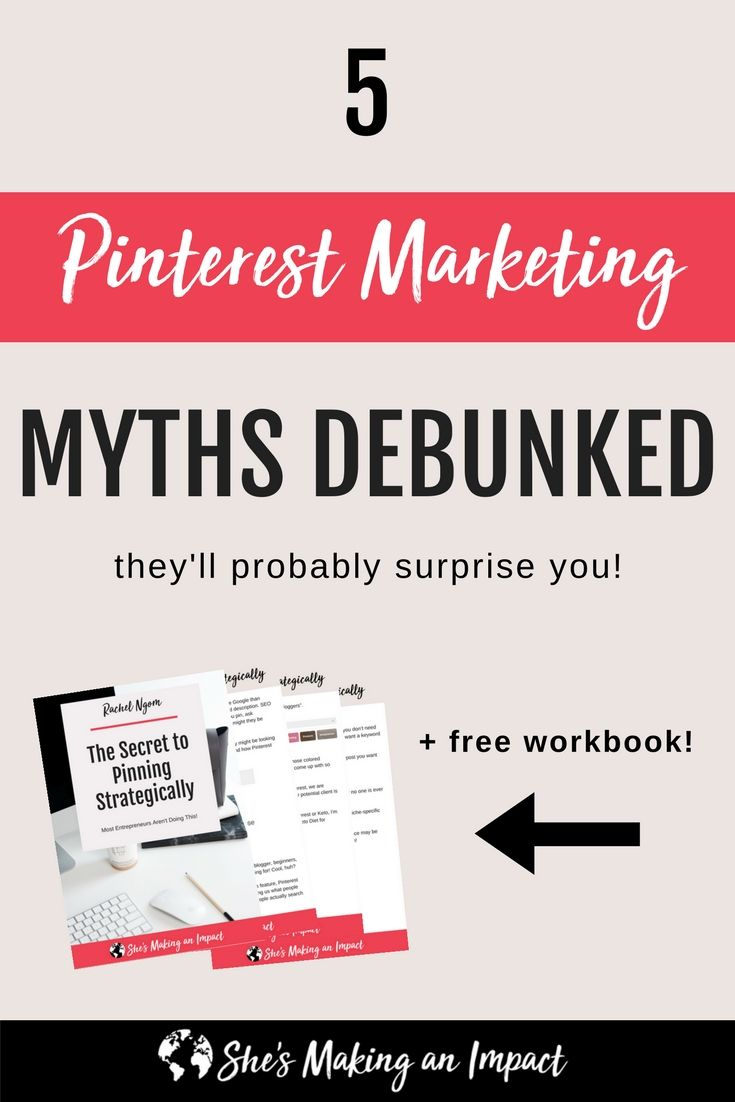5 Pinterest Marketing Myths Debunked (they'll probably surprise you!) - Rachel Ngom #PinterestMarketing #PinterestMarketingtips #PinterestTips #PinterestForBusiness #PinterestStrategy #PinterestGrowthHacks #SMM #PinterestMarketingIdeas #SocialMediaMarketing #SocialMedia ||| Curated by Pinterest Marketing Expert Uzzal Hossain @Pinterest_Xpert